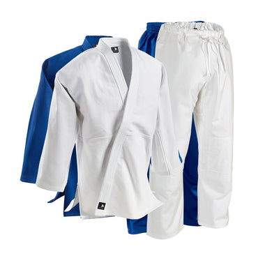 SINGLE-WEAVE STUDENT JUDO GI - ELASTIC PANTS