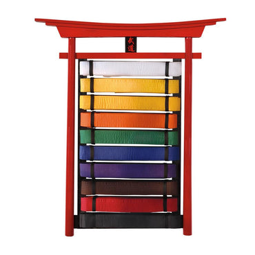 BUDO WALL MOUNTABLE BELT DISPLAYS