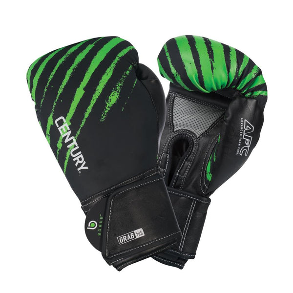 BRAVE YOUTH BOXING GLOVE - BLACK/GREEN