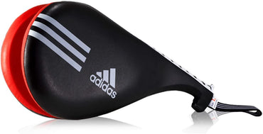 Adidas Taekwondo Double Kick Mitt Target Pad Training Tae Kwon Do Kickmitt TKD (Black)