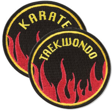 Circle Flame Patch