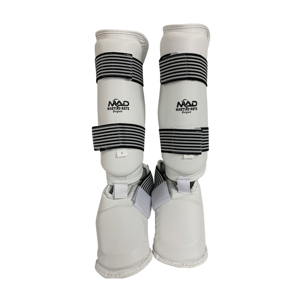 WHITE SHIN&FULL INSTEP (PU)