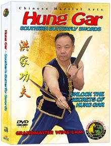 (HUNG GAR DVD #08) BUTTERFLY SWORDS