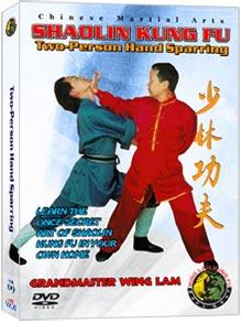 (SHAOLIN DVD #09) TWO-PERSON HAND SPARRING CHINESE TRADITIONAL SHAOLIN KUNG FU BY SIFU WING LAM