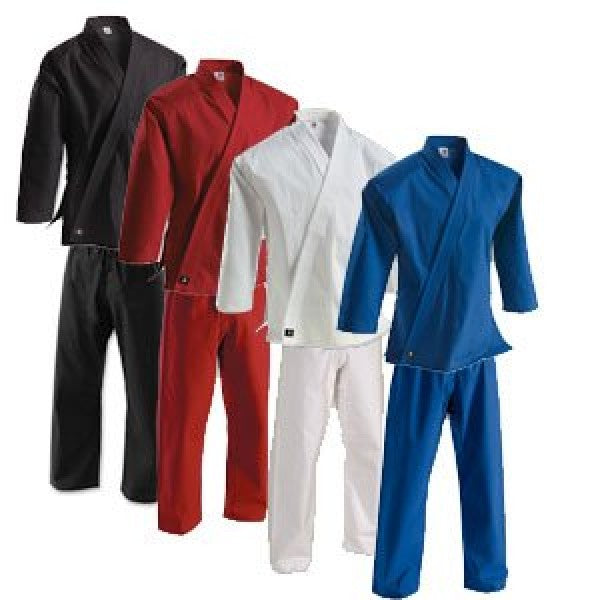 8 oz Middleweight Brushed Cotton karate Uniform