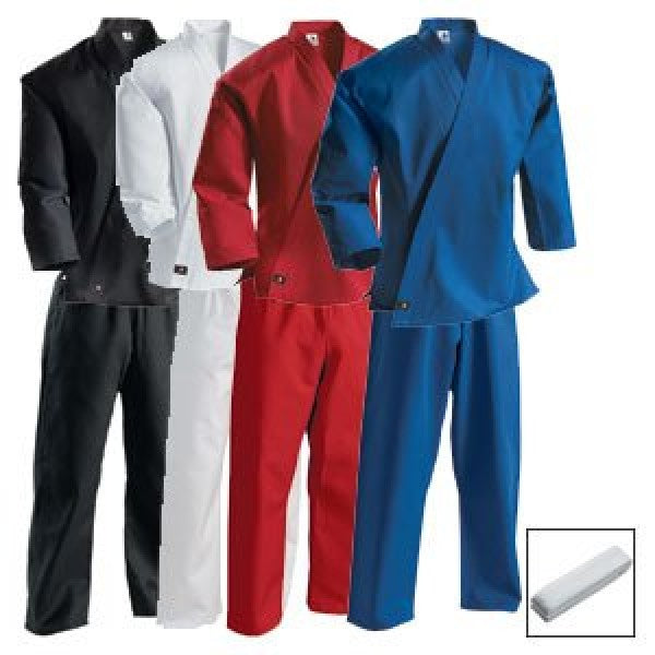 7 oz Middleweight Student karate Uniform with Elastic Pant