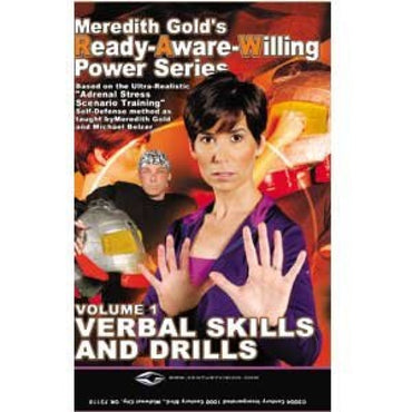 Meredith Gold Raw Power Self Defense Training DVD Series Titles