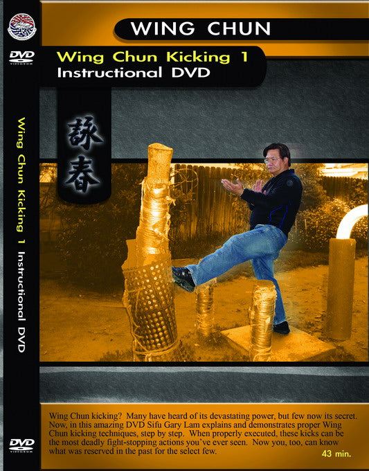 Wing Chun Kicking1 Instructional By Sifu Gary Lam