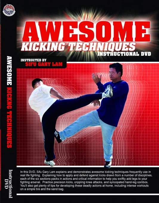 DVD:Awesome Kicking Techniques: By Sifu Gary Lam