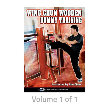 WING CHUN WOODEN DUMMY TRAINING DVD WITH SIFU CHOW