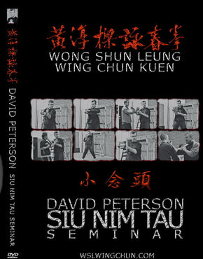 "DVD : ""SIU NIM TAU"" 2 DVD set By Sifu David Peterson"