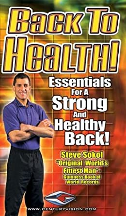 Back To Health DVD