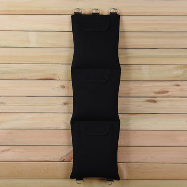 Wing Chun Kung Fu Wall Bag 3 Sections Canvas Sandbag