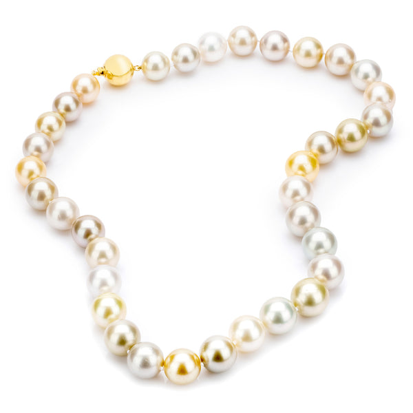 South Sea Multi Colour Pearls 11-13mm