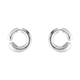 Georg Jensen Silver Mercy Hoop Earrings