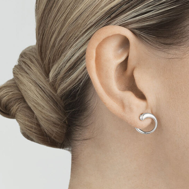 Georg Jensen Silver Mercy Earrings