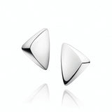 Georg Jensen Peak Silver Earrings