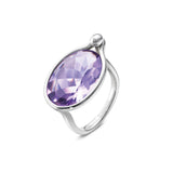 Georg Jensen Savannah Amethyst Silver Ring