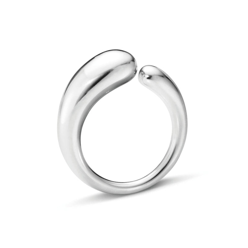 Georg Jensen Large Mercy Silver Ring