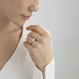 Georg Jensen Small Mercy Silver Ring