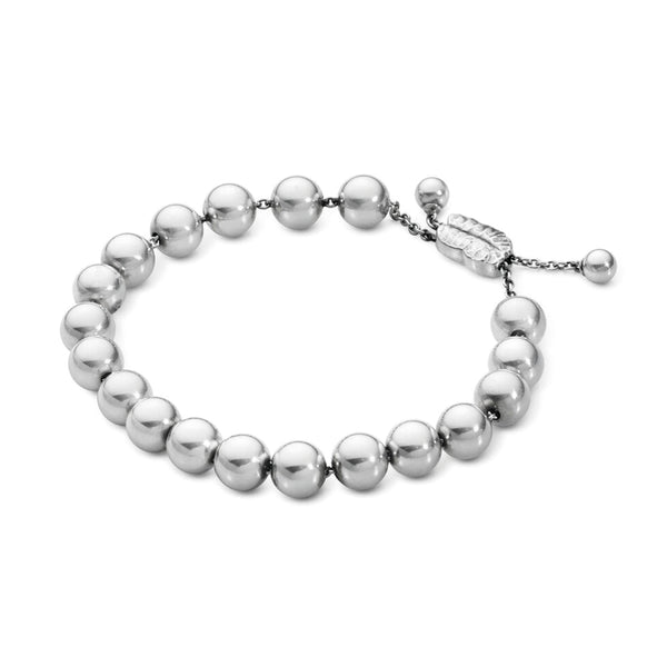 Georg Jensen Moonlight Grapes Silver  Bracelet