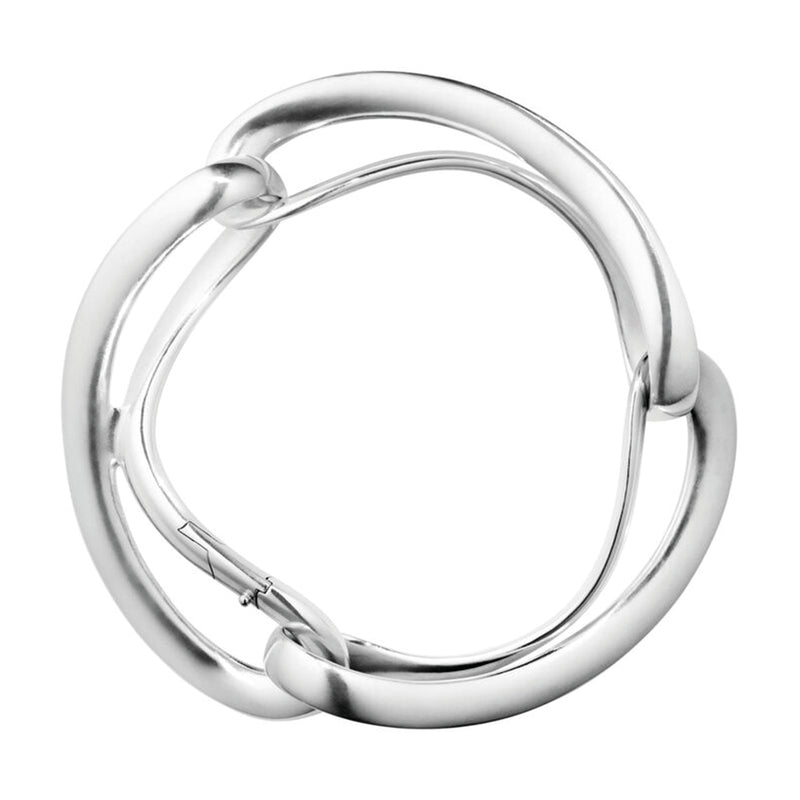 Georg Jensen Infinity Silver Bangle