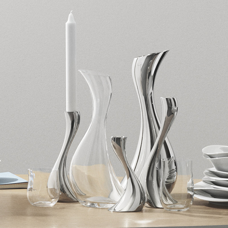 Georg Jensen Stainless Steel Cobra Pitcher