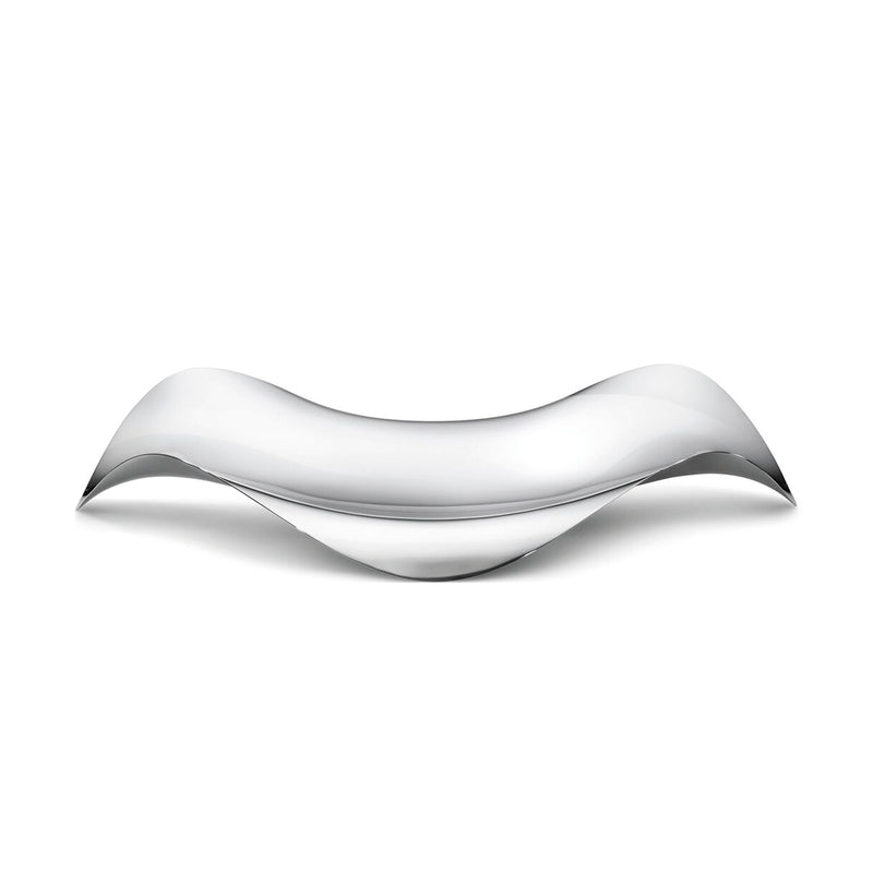 Georg Jensen Stainless Steel Cobra Oval Tray