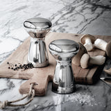 Georg Jensen Stainless Steel Alfredo Salt and Pepper Grinder Small