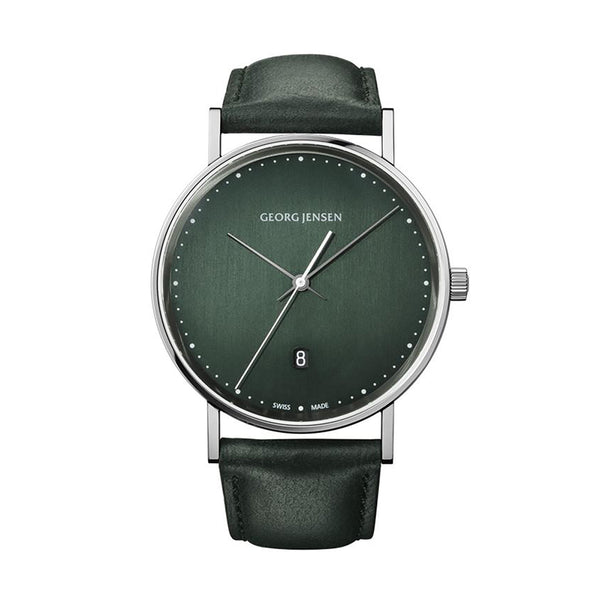 Georg Jensen Koppel Silver Mens Watch