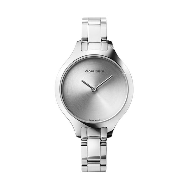 Georg Jensen Koppel Silver Concave Ladies Watch