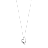 Georg Jensen Silver Hearts of Georg Necklace