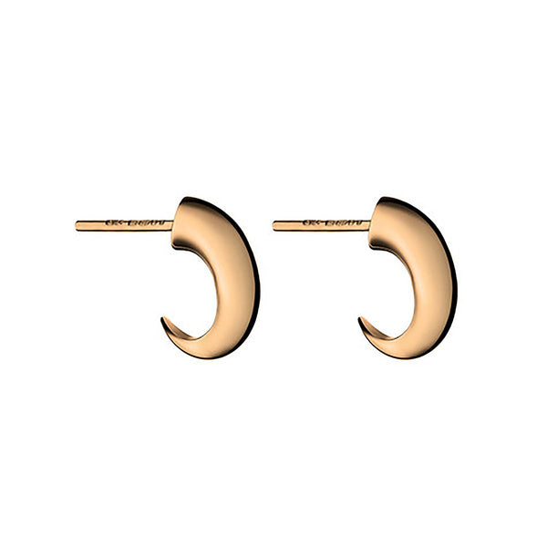 Shaun Leane Rose Gold Vermeil Cat Claw Hoop Earrings