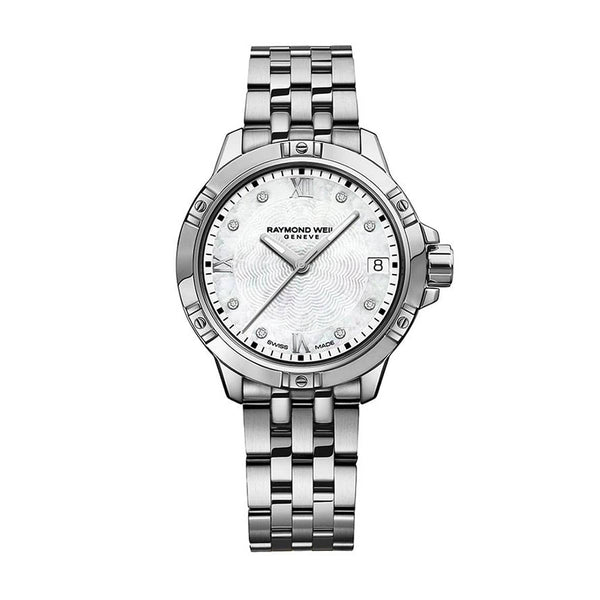 Raymond Weil Tango Mother of Pearl Silver Ladies Watch