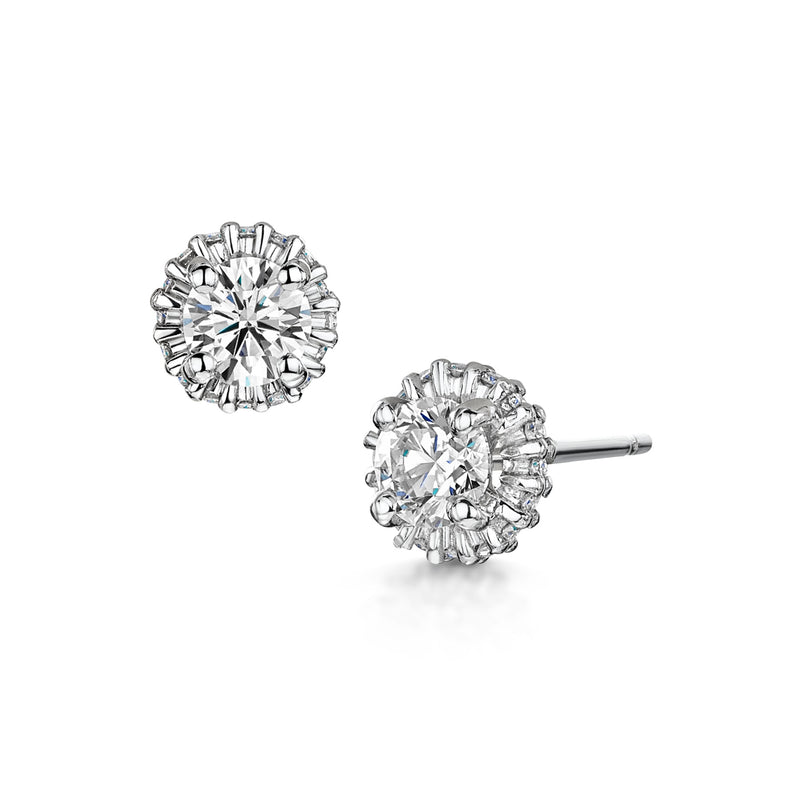 Ballerina Diamond Earrings