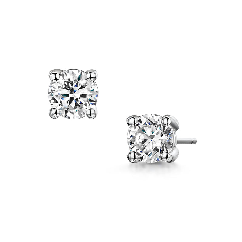 Classic No.1 Diamond Earrings