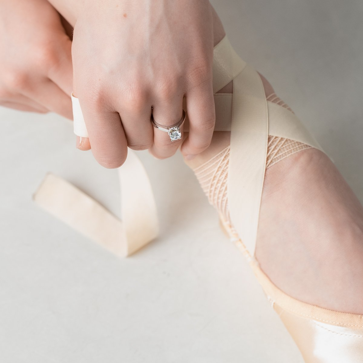 Ballerina Engagement Ring