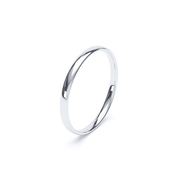 2.5mm Platinum Classic Court Band