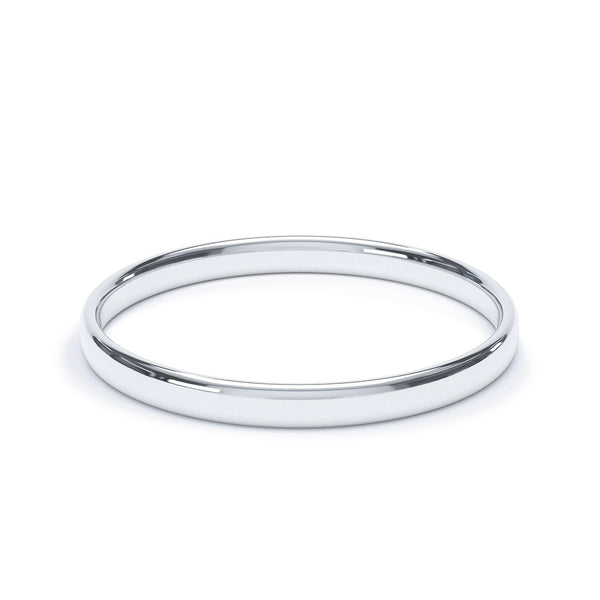2.0mm Platinum Classic Court Band