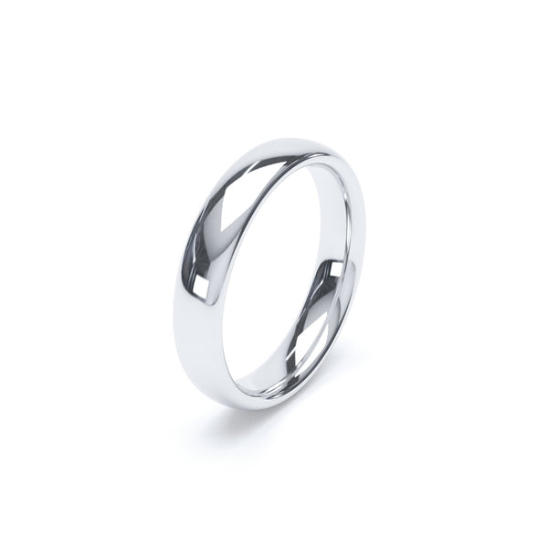 4.0mm Platinum Classic Court Band