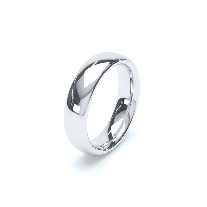 5.0mm Platinum Classic Court Band