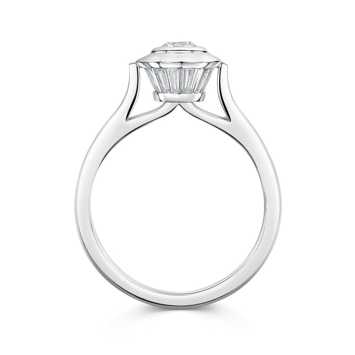 Lighthouse Engagement Ring