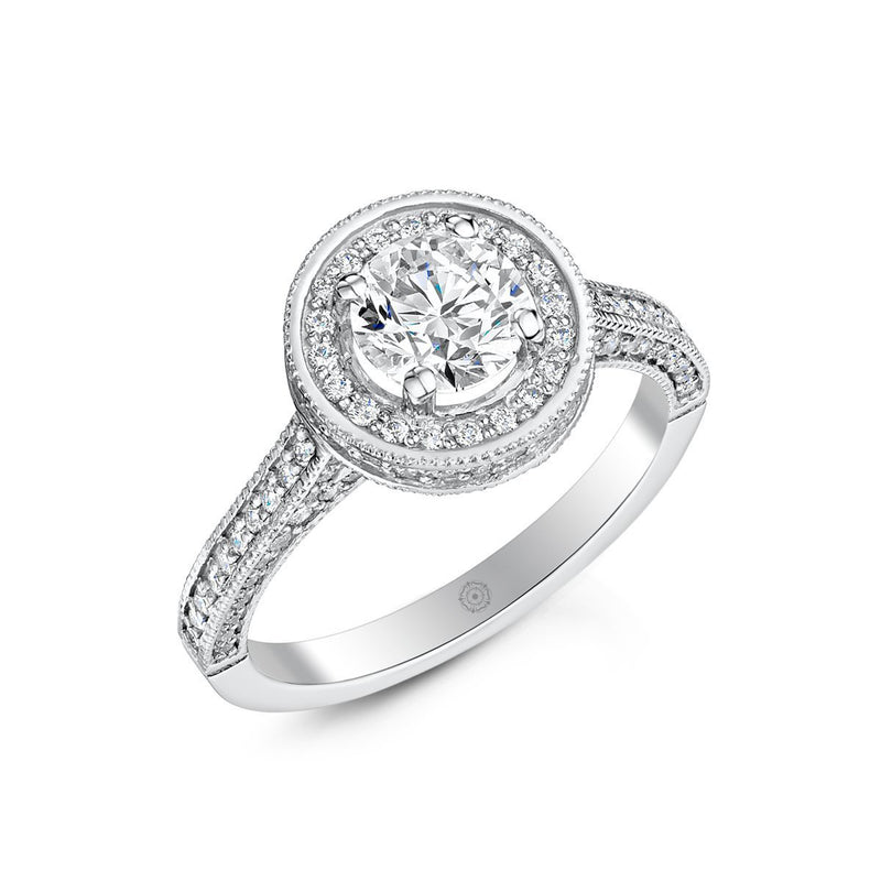 Vintage No.1 Engagement Ring