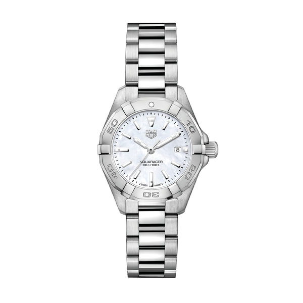 TAG Heuer Aquaracer White Mother of Pearl Ladies Watch