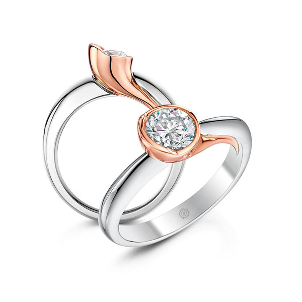 Pod Engagement Ring