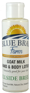 Goat Milk Hand & Body Lotion - 5oz