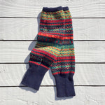 Fair Isle Winter Berries Leg Warmers - HOUNDWORTHY