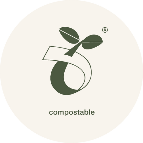 Certified compostable stretch wrap with DIN CERTCO