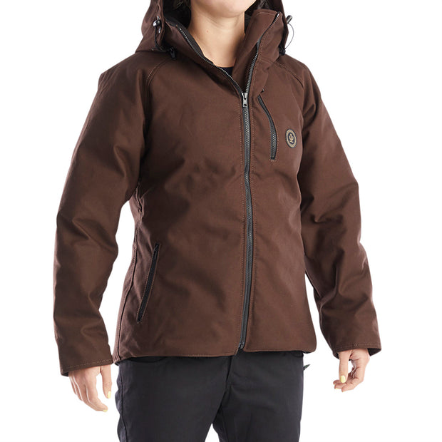Canvas Down Jacket Womens 2020