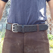 Leather Heavy-Duty Work Belt